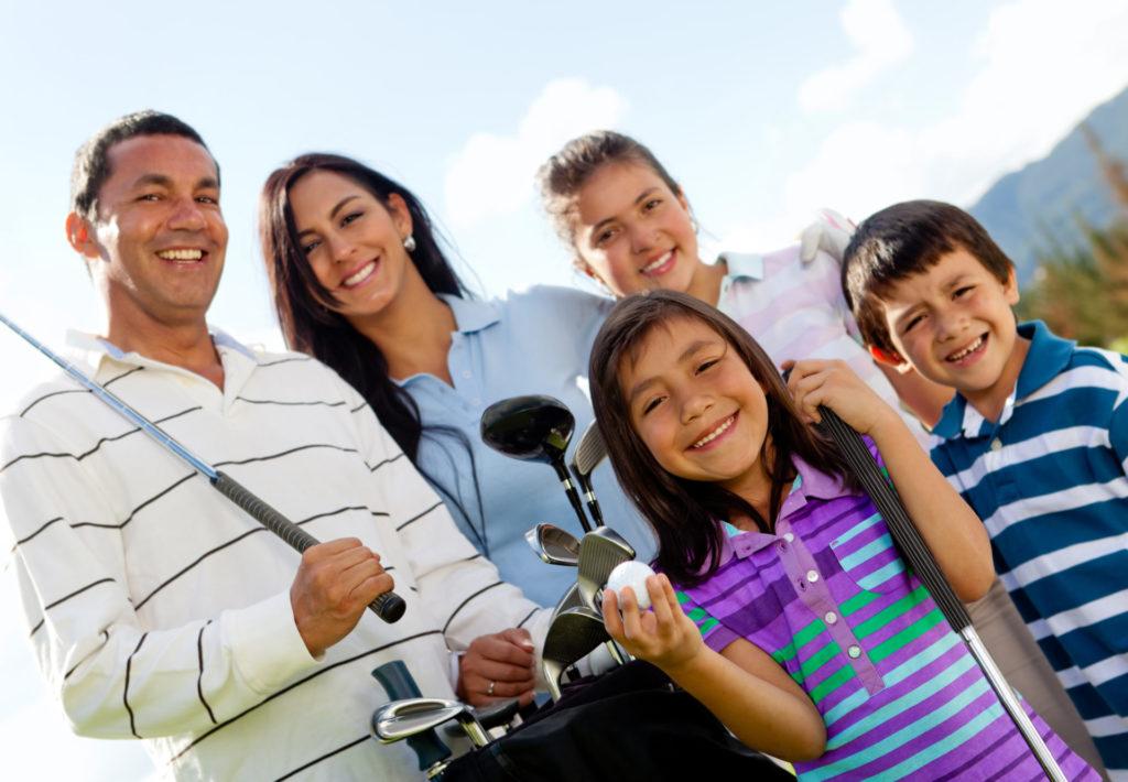 family golf with social membership